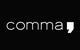 comma Logo