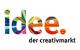 idee. Creativmarkt Logo