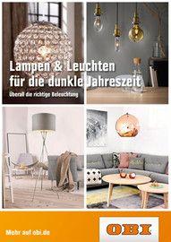 OBI, Lampen & Leuchten für die dunkle Jahreszeit für Hamburg