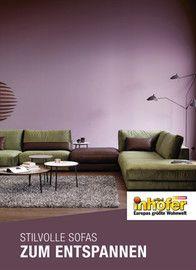 Möbel Inhofer, Stilvolle Sofas zum Entspannen für Schwäbisch Gmünd
