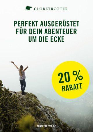 Globetrotter, PERFEKT AUSGERÜSTET FÜR DEIN ABENTEUER UM DIE ECKE für Leipzig
