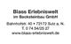 Blass Erlebniswelt GmbH Logo